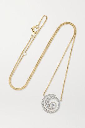 Jessica McCormack Tattoo 18-karat White And Yellow Gold Diamond Necklace - One size