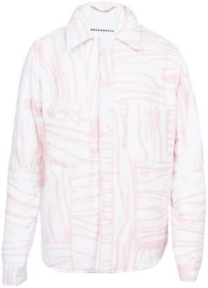 Buttoned Down Rochambeau puffer shirt