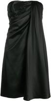 Dolce & Gabbana Draped Sleeveless Mini Dress