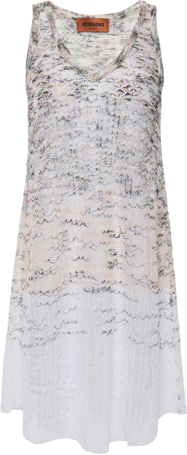 Missoni Degrade Crochet-knit Dress