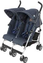 Maclaren Denim-Indigo Twin Trumph Pushchair