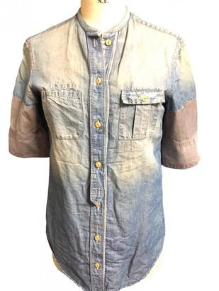 Coast Weber & Ahaus Blue Denim - Jeans Top for Women Vintage