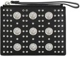 Versus Studded Saffiano Leather Pouch