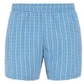 Boss Printed swim shorts in quick-dry fabric