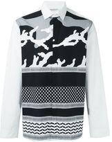 Neil Barrett pattern print shirt