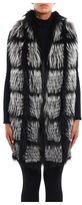Fabiana Filippi Long Waistcoat And Fur Coat