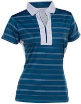 Asstd National Brand Nancy Lopez Golf Crystal Short Sleeve Polo