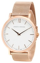 Larsson & Jennings Lugano 40mm Rose Gold-plated Watch