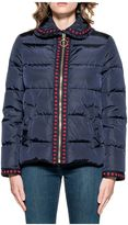 Gucci Blue Quilted Down Jacket
