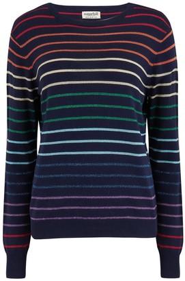 Sugarhill Brighton Rowena Triple Stripe Rainbow Sweater