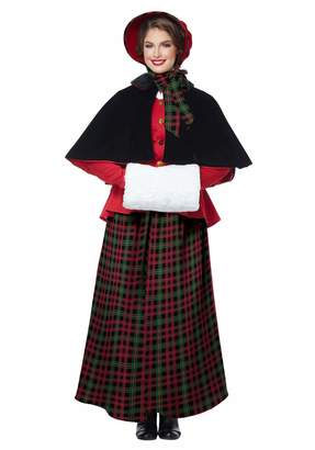 California Costumes Women's Holiday Caroler Woman-Adult Costume