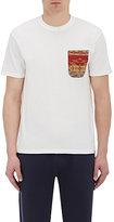 Visvim Men's Patch-Pocket T-Shirt-WHITE