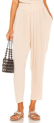 Indah Tanah Solid 80s Pleated Trouser