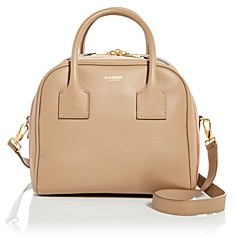 Burberry Icon Stripe Small Leather Bowling Bag