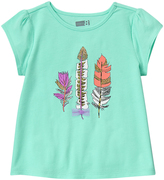 Crazy 8 Beach Glass Feather Tee - Infant & Toddler