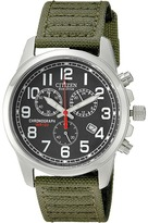 Citizen AT0200-05E Eco-Drive Chronograph Canvas Watch