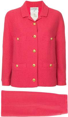 Chanel Pre-Owned logo blazer