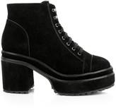 Cult Gaia Bratz Block-Heel Suede Boots