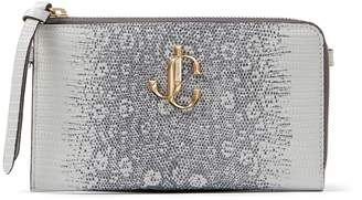 Jimmy Choo Lizard-Embossed Leather Jolly Phone Case