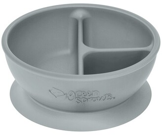 Green Sprouts Learning Bowl - Grey