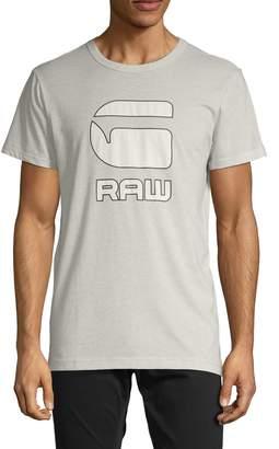 G Star Raw Printed Cotton Blend Tee