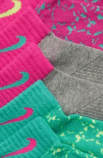Nike Girl's Low Cut Graphic Socks