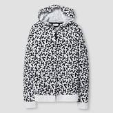 Cat & Jack Kids' Hooded Sweatshirt Cat & Jack - Black/White
