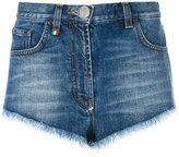 Philipp Plein Heart denim shorts