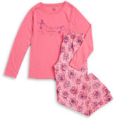 Kids Headquarters Floral Pajama Set