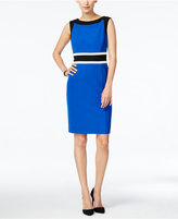 Nine West The Essential Colorblocked Sheath Dress