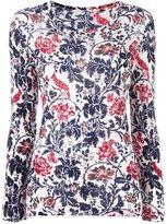 Y's floral pattern jumper