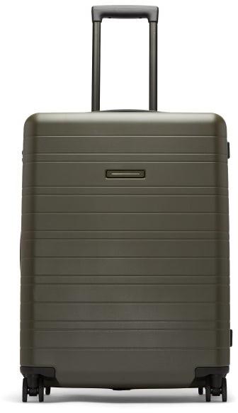 Horizn Studios H6 Smart Medium Hardshell Check-in Suitcase - Dark Green