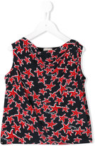 Armani Junior starfish print top
