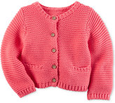 Carter's Baby Girls' Textured Cardigan