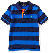 Ralph Lauren Little Boys 2T-7 Bold-Stripe Short-Sleeve Polo Shirt