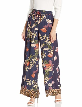 For Love and Liberty Women's Floral Printed Pants