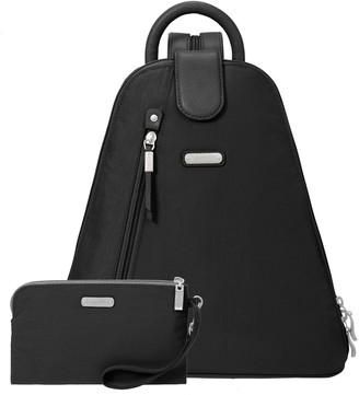 Baggallini Metro Backpack with RFID Phone Wrist let