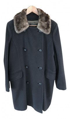 Georges Rech Brown Wool Coats