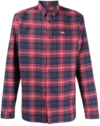 Philipp Plein Plaid Shirt