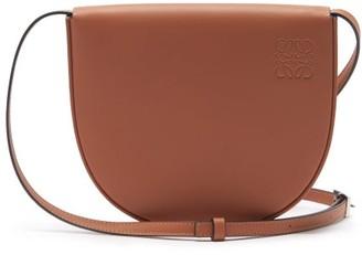 Loewe Heel Small Leather Cross-body Bag - Tan