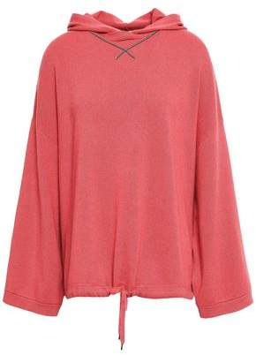 Brunello Cucinelli Bead-embellished Cashmere Hooded Sweater