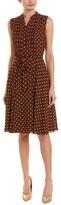 Thumbnail for your product : Nanette Lepore Women's Slvls Pintuck Button Midi A Line Dress