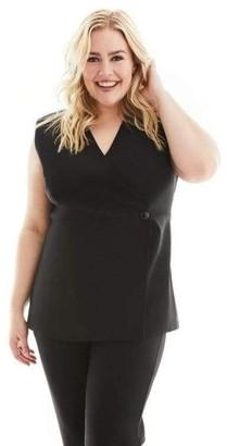 Gravitas Bella Vest in Black Size 1X