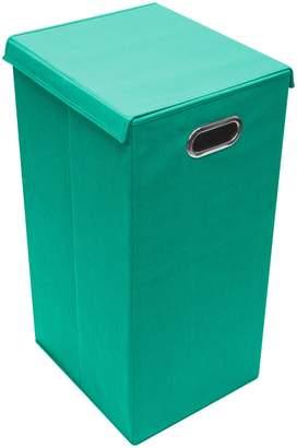 Sorbus Teal Laundry Hamper Sorter with Lid Closure