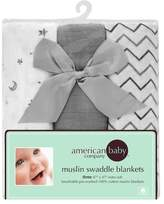 T.L.Care TL Care 3-pk. Muslin Swaddle Blankets