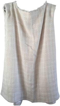 Mark Kenly Domino Tan Ecru Cotton Dress for Women