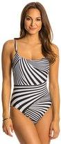 Gottex Illusion Round Neck One Piece Swimsuit 8130280