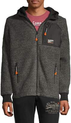 Superdry Mountain Faux Shearling Zip-Up Jacket