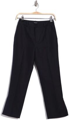 Frame Side Slit Trousers