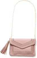 Moda Luxe Lite Pink Daisy Laser Cut Clutch Lite Pink 1 Size